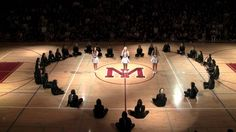 MIHS Cheer Senior Assembly 2011! This is precious we should do this for the 8th graders next year *wink* *wink*