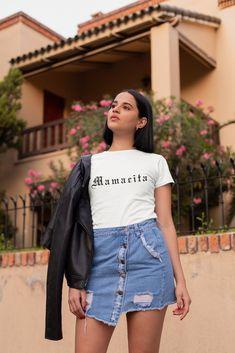 Girl Lady/'s Cropped Dancing Top t shirt Hanging Camera Print White Cotton UK