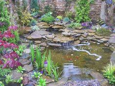 81 Beautiful Design Backyard Garden with Small Water Ideas #BackyardIdeas #GardensDesign