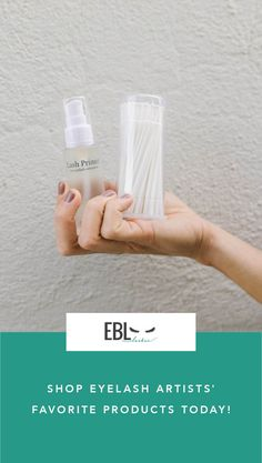 Find all the best products you need as a lash artist at EBL! Shop now.