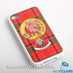 Munro Clan Crest iPhone Cover