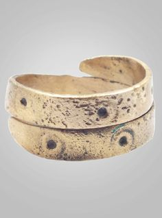 Fantastic Ancient Viking Coil Ring Jewelry C.866-1067A.D. Size 9 1/2 (20.1mm)(BRR415)