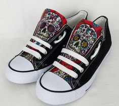 Sugar skull shoes - My Sugar Skulls