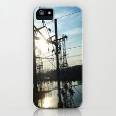 Wires iPhone 5 Case by Josj - $35.00