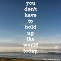 a reminder for you *yes you* today. :: be present, be here - trust thistruth