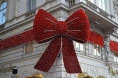 En güzel dekorasyon paylaşımları için Kadinika.com #kadinika #dekorasyon #decoration #woman #women A Pretty Bow [Vienna - 10 December 2016]