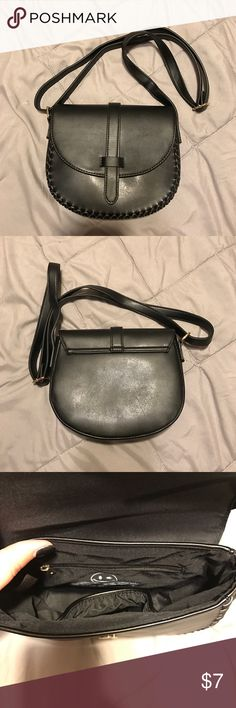 """Black purse Joe boxer Black satchel cross body purse with adjustable strap. New never used without tags, two very small scuffs on back. 6.5""""X8""""X2.5"""" joe boxer  Bags Crossbody Bags"""