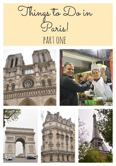 Things to do in Paris. Part 1