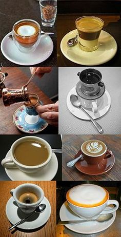 List of coffee drinks - Wikipedia, the free encyclopedia