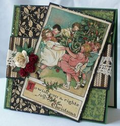 Chrtistmas Emporium Inspiration Galore! at Graphic 45 - I love the tags and cards here - so elegant