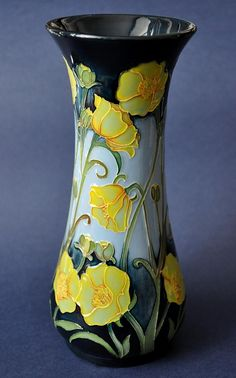 Moorcroft Pottery Butterfield 364/8 Paul Hilditch http://www.bwthornton.co.uk/moorcroft.php