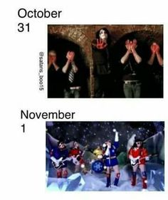 100% ACCURATE! (I mean can you believe this is the same band?)
