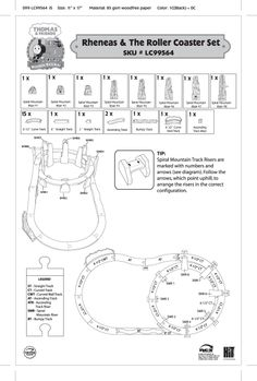 imaginarium city central train table instructions