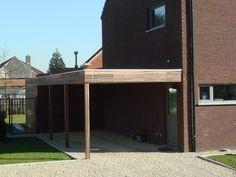 Moderne Carports Hout & Garages Hout > Hardhout & Padouck | Bogarden