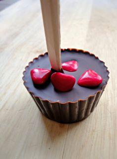 Valentine's Hot Chocolate Sticks - Happiness is Homemade