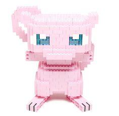 Its DNA is said to contain the genetic codes of all Pokémon. Pokemon Lego, Lego Transformers, Lego Technic, Lego Mario, Lego Blocks, Game Room Design, Lego Worlds, Lego Design, Lego Projects