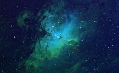 The Eagle Nebula.  See it here: http://www.sidleach.com/m16.htm