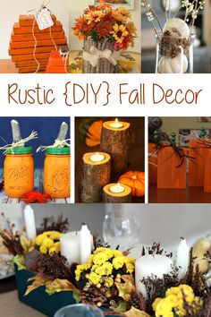 DIY Autumn Decorations