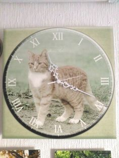 Ateljee Amnelin, handmade in Finland, Design from Finland Finland, Nice Things, Cats, Clocks, Handmade, Animals, Design, Gatos, Animales