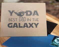 Star Wars Father's Day Card - Yoda