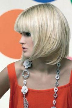 short bob hairstyles with bangs