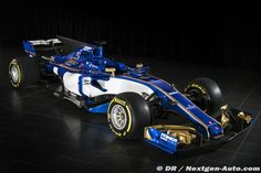 The new Sauber F1 2017