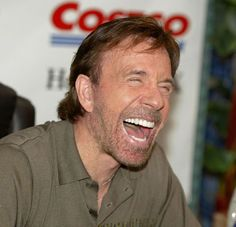 Chuck Norris is like my hero. He's an awesome Christian man with awesome values and is so handsome. I have adored him for as long as I can remember. :)