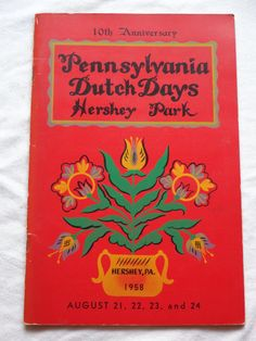 Your place to buy and sell all things handmade Vintage Travel, Vintage Ads, Page Program, Hershey Park, Pennsylvania Dutch, Booklet, Etsy, Souvenir, Vintage Advertisements