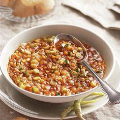 Lentejas a la hortelana - Best Pins Lentil Recipes, Veggie Recipes, Soup Recipes, Salad Recipes, Vegetarian Recipes, Cooking Recipes, Healthy Recipes, Veggie Food, Good Food