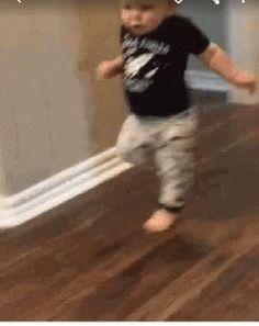 Baby Running GIF - Baby Running - Discover & Share GIFs
