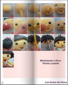 Paso a paso: Modelar a Dora la Exploradora