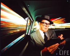 L.A. Mayor Norris Poulson (1950's) | Photographer: Ralph Crane