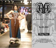 Amna Ajmal Designer Wedding Dresses http://clothingpk.blogspot.com/2015/07/amna-ajmal-designer-wedding-dresses-for-women.html