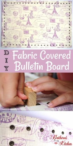 """My 8 year old daughter who blogs over at Sparkle Bunny Cotton Tails wanted to buy a bulletin board to hang in her room so she could hang pictures of her friends and her up on. Since she's getting older and becoming more concerned about having her """"own space"""" and personality show in her room …"""