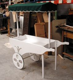 flower+carts+on+wheels | Nice Food Merchandise Flower Cart w Wheels Canopy Cost $500 New Kring ...