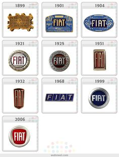 25 Famous Company Logo Evolution Graphics for your inpsiration Car Logos, Car Badges, Auto Logos, Kodak Logo, Pepsi Logo, Vehicle Signage, Marken Logo, Famous Logos, Mercedes Benz Logo