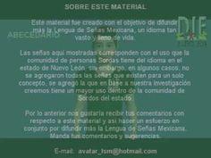 LENGUA DE SEÑAS MEXICANA TEMA 1 ABECEDARIO Diccionario Español   LSM