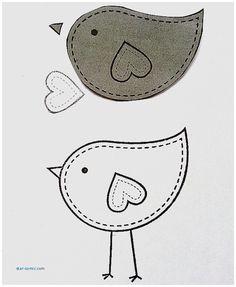 Ideas For Bird Embroidery Pattern Applique Quilts Bird Applique, Bird Embroidery, Free Motion Embroidery, Applique Design, Applique Templates, Applique Patterns, Applique Quilts, Felt Templates, Applique Ideas
