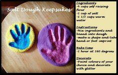Salt Dough Keepsakes