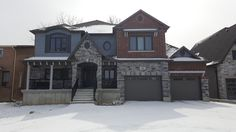 Our GTA client did a great job choosing exterior colours with our designer-royalhomes.com