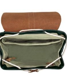 SOLSTICE pine | Fitz & Huxley Fitz Huxley, Unisex, Macaroons, Concrete, Charcoal, Pouch, Mint, Backpacks, Natural Leather