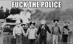 Fuck the police meme
