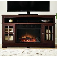 Home Source Industries Taylor Electric Fireplace Tv Stand In 2018