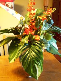 Tropical Centerpieces | Tropical Centerpiece