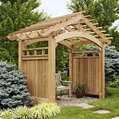 arching garden arbor woodworking plan outdoor backyard structures arbors trellistrellis ideastrellis designgarden