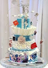 Image result for sweet sixteen cakes