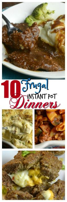 Share with friends11Share10 Frugal Instant Pot Dinners One of the great things about having my Instant Pot is saving money on food.You can feed a family of 4 for $5-10.00. How amazing is that? Here is a list of my favorite Frugal Meals. Hamberger Helper That is right Homemade Hamberger Helper a full meal for …