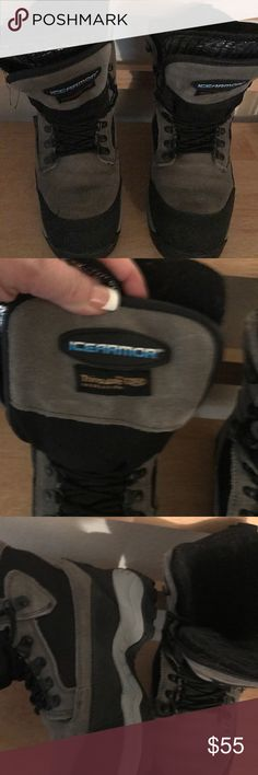 Ice Armor Boots women's size 6 Women's or Youth Boy's Ice Armor snow boots. 1,000 grams of 'Thinsulate' ultra insulation! Size 6 Ice Armor Shoes Winter & Rain Boots
