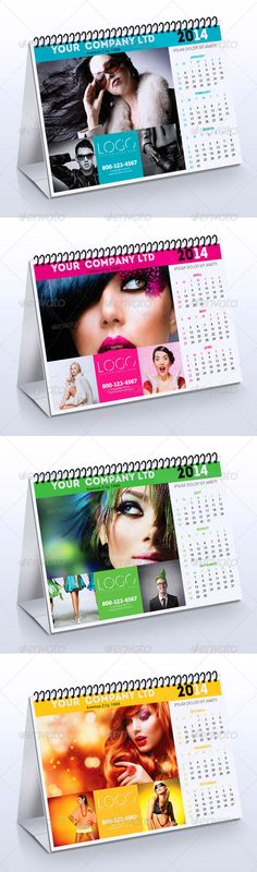 2014 Fashion Calendar 2014 Professional and clean Calendar template. Fully layered and very easy to customize. Designed with adobe