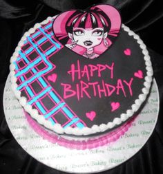 Creative Picture of Monster High Cakes For Birthdays . Monster High Cakes For Birthdays Monster High Birthday Cake Wedding Academy Creative Really Cool Monster High Birthday Cake, Doll Birthday Cake, Monster High Cakes, Monster High Party, Birthday Cake Toppers, 5th Birthday, Birthday Parties, Publix Birthday Cakes, Publix Cakes